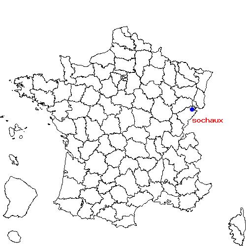 Itinéraire de nommay à sochaux