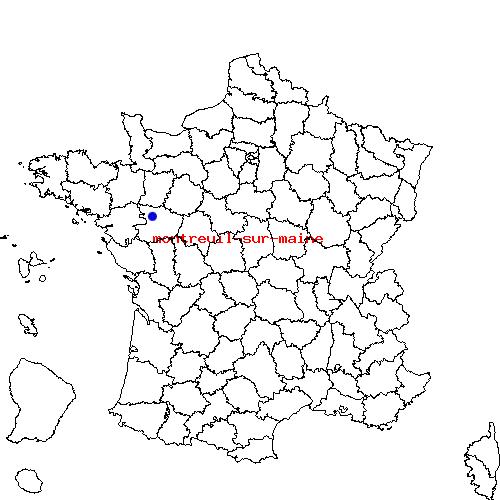 Itin raire d 39 andigne montreuil sur maine for Porte de montreuil code postal
