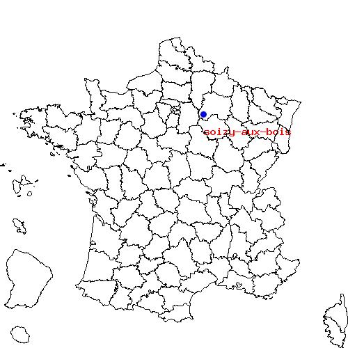 Itinéraire de CHALONS EN CHAMPAGNE à soizy aux bois