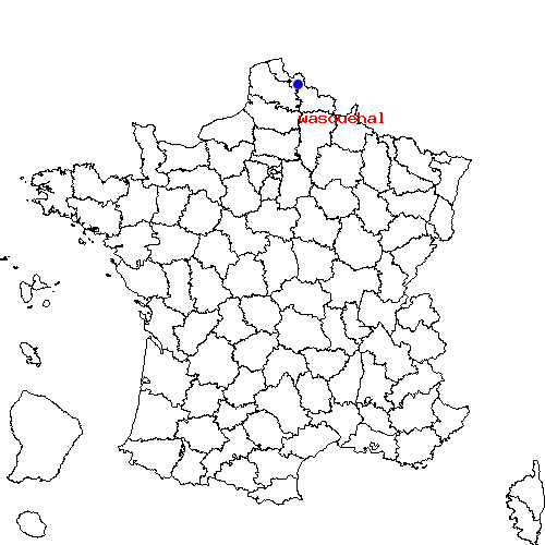 carte de france wasquehal