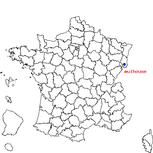 Itinéraire de poitiers à mulhouse