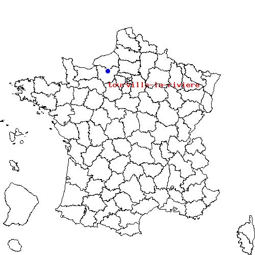 itin 233 raire de tourville la riviere 224 criquebeuf sur seine