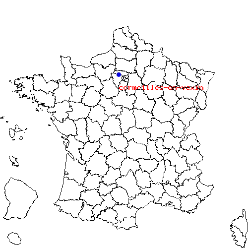 Itin raire d 39 epiais rhus cormeilles en vexin - Montigny les cormeilles code postal ...